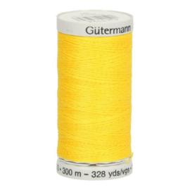 Gutermann naaigaren cotton 30 / 300 meter  1124 / geel