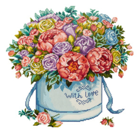 Diamond Painting Flowers - Freyja Crystal   fc-alvr-118