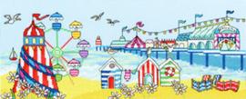 Borduurpakket Julia Rigby - Pier Fun - Bothy Threads    bt-xjr32