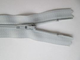Ykk Nylon ritsen 10 t/m 60 cm Zilver grijs (574)
