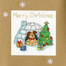 Borduurpakket Margaret Sherry - Winter Woof - Bothy Threads    bt-xmas25