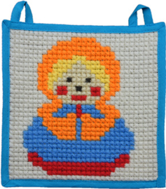 Little Wallhanging 20 x 20 cm Pre-stamped - Duftin    d-0972202017