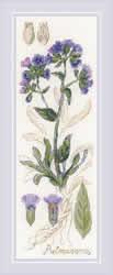 Borduurpakket Pulmonaria - RIOLIS    ri-1797
