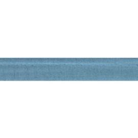 Oaki Doki Tricot de Luxe  / Paspelband 3 mm / Jeans Blauw 003
