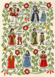Borduurpakket Pete Smith - Henry VIII - Bothy Threads    bt-xps07