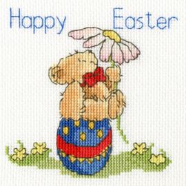 Borduurpakket Margaret Sherry - Easter Teddy - Bothy Threads    bt-xgc20