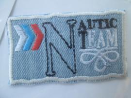 HKM Mode Applic. Nautic team jeans
