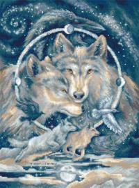 Borduurpakket In Spirit… I am Free - Leti Stitch    leti-0955
