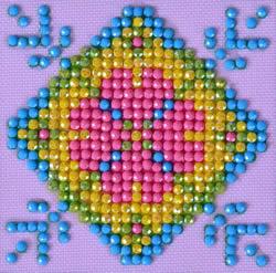 Diamond Dotz Patchwork Mandala 2 - Needleart World    nw-dds-028