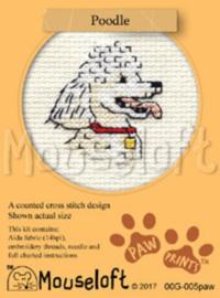 Borduurpakket Poodle - Mouseloft    ml-00g-005