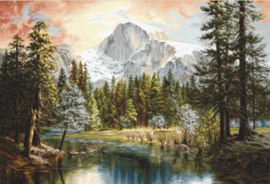 Borduurpakket Nature's Wonderland - Luca-S    ls-b604