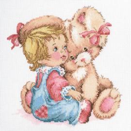 Borduurpakket Tender bunny - RTO    rto-m00663
