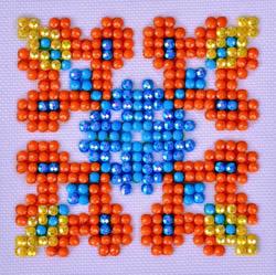 Diamond Dotz Autumn Mandala 2 - Needleart World    nw-dds-026