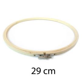 Borduurring hout / 29 cm