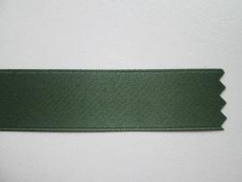 Satijnlint satin double face Deluxe 16 mm olijfgroen 893