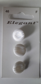 Knopen Elegant wit (46)