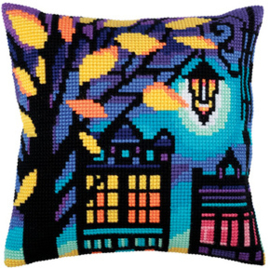Kussen borduurpakket Twilight - Collection d'Art    cda-5286