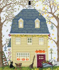 Borduurpakket New England Homes - Fall - Bothy Threads    bt-xss03