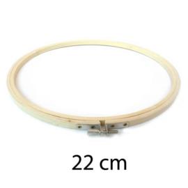 Borduurring hout / 22 cm