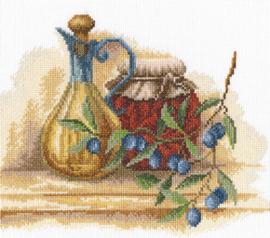 Borduurpakket Tuscan Still Life - RTO    rto-m00353