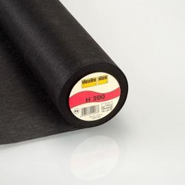 Vlieseline H 200 Plakbare Tussenvoering  Zwart