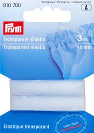 Prym Transparant Elastic  10 mm   910 700