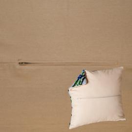 Kussenrug 45 x 45 cm Cappucino - Duftin    d-backs353