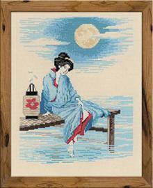 Borduurpakket Bright Moon - RIOLIS    ri-1509