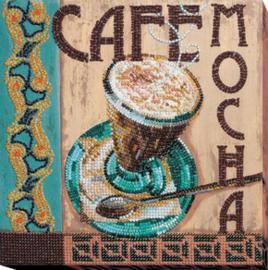 Kralen borduurpakket Mocha - Abris Art    aa-amb-057