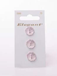 Knopen Elegant - Roze / 599