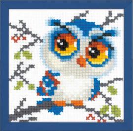 Borduurpakket Scops Owl - RIOLIS    ri-1784