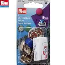 Prym Stofknopen met matrijs   19mm  323 216