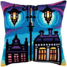 Kussen borduurpakket Twilight - Collection d'Art    cda-5284