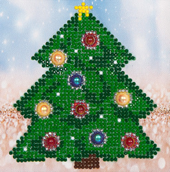 Diamond Dotz Christmas Tree - Needleart World    nw-dd02-036