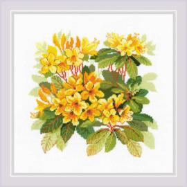 Borduurpakket Rhododendron - RIOLIS    ri-1922