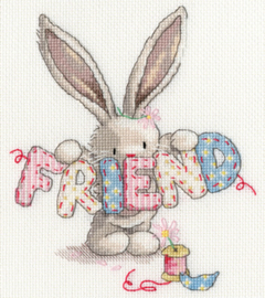 Borduurpakket Bebunni - Friend - Bothy Threads    bt-xbb16