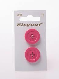 Knopen Elegant - Roze / 606