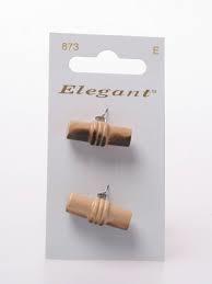 Knopen Elegant - Bruin / 873
