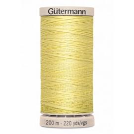 Quiltgaren 200 meter - Artikelnummer 349 / licht geel