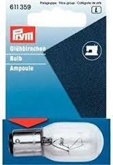 Prym Reservelampje met bajonet fitting   611 359