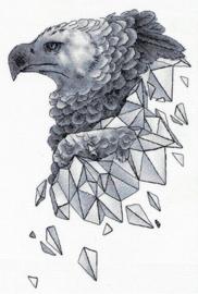Borduurpakket Geometry - Eagle - PANNA    pan-7146-j