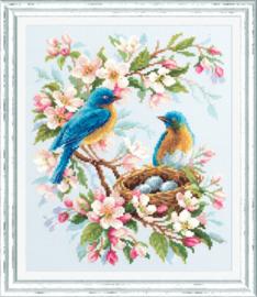 Borduurpakket Spring Song - Chudo Igla    ci-130-041