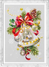 Borduurpakket Christmas Bell - Chudo Igla    ci-100-232