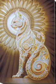 Kralen borduurpakket Bast - Abris Art    aa-ab-519