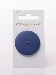 Knopen Elegant - Blauw / 467