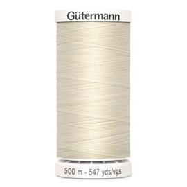 Gütermann /  500 meter / 802 / Ecru