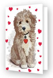 Diamond Dotz Greeting Card Lovely Boy - Needleart World  nw-ddg-029