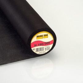 Vlieseline H 180 Plakbare Tussenvoering  Zwart