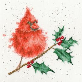 Borduurpakket Hannah Dale - Festive Feathers - Bothy Threads    bt-xhd67