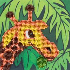 Kralen borduren Giraffe - PANNA    pan-08-0243
